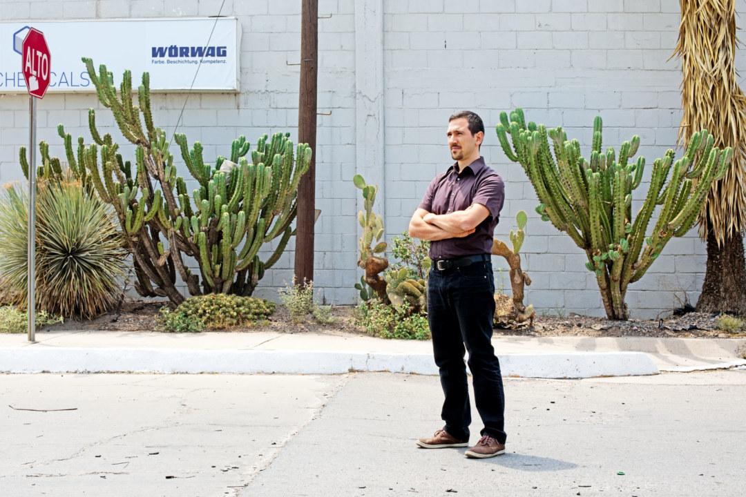 In San Luis Potosí betreut Projektmanager Giuseppe Polito den Aufbau der mexikanischen Wörwag-Tochter.
