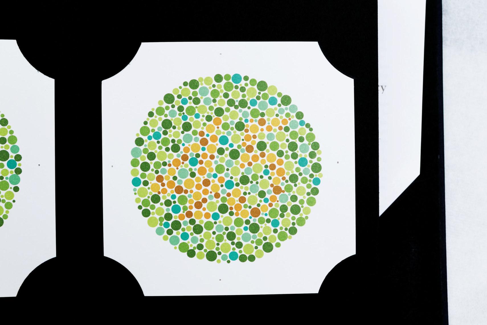 Ishihara-Farbtafel