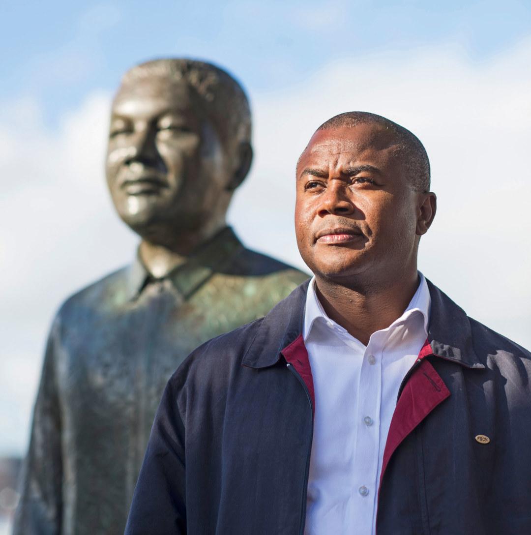 Nelson Mandelas Vorbild hat Henry Pienaar geprägt.