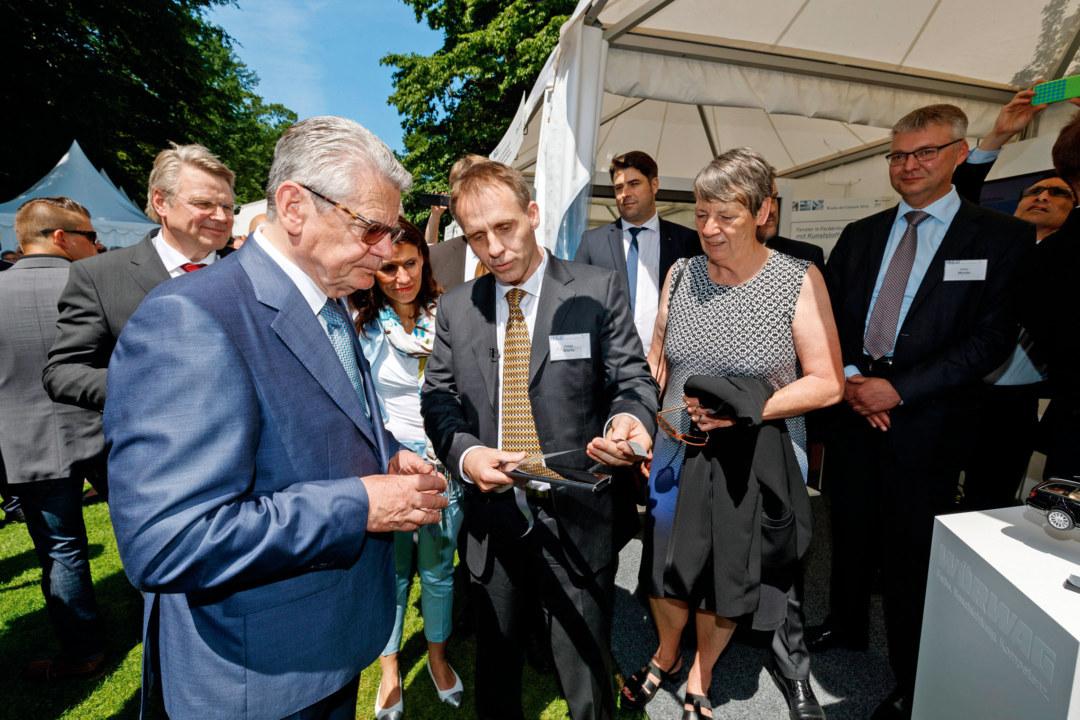 Helge Warta und Joachim Gauck