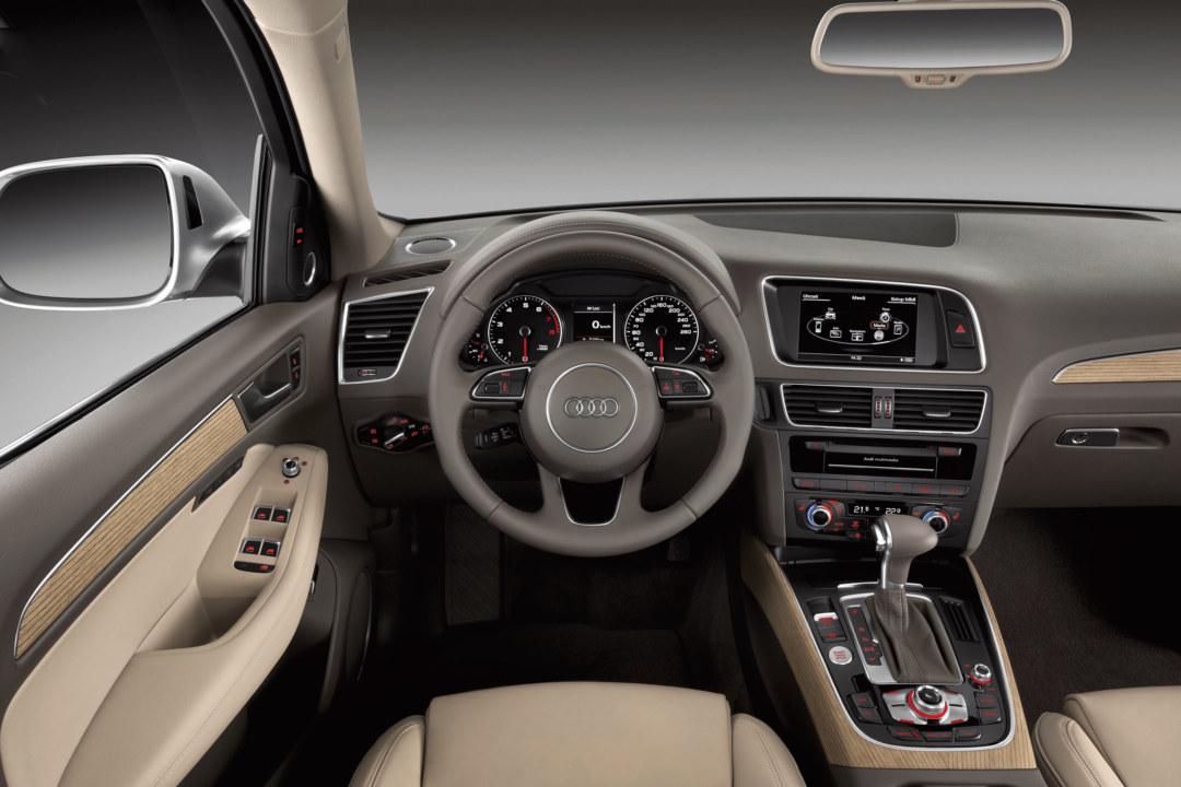 Audi setzt im Interieur den Anti-Knarz-Lack von Wörwag ein.
