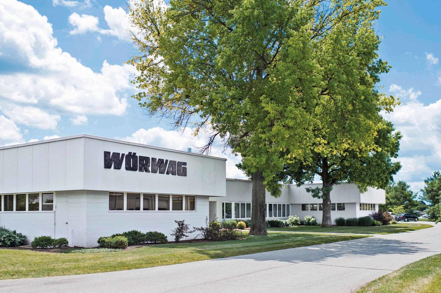 Wörwag-Werk in Lafayette