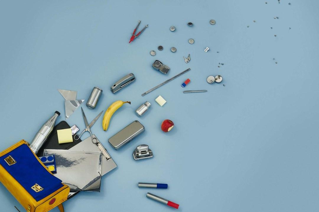 1001 Ideen aus dem Schulranzen und dem Büroalltag: Diana Liebreich hat mit Chrompulver experimentiert. ©Jadwiga Galties