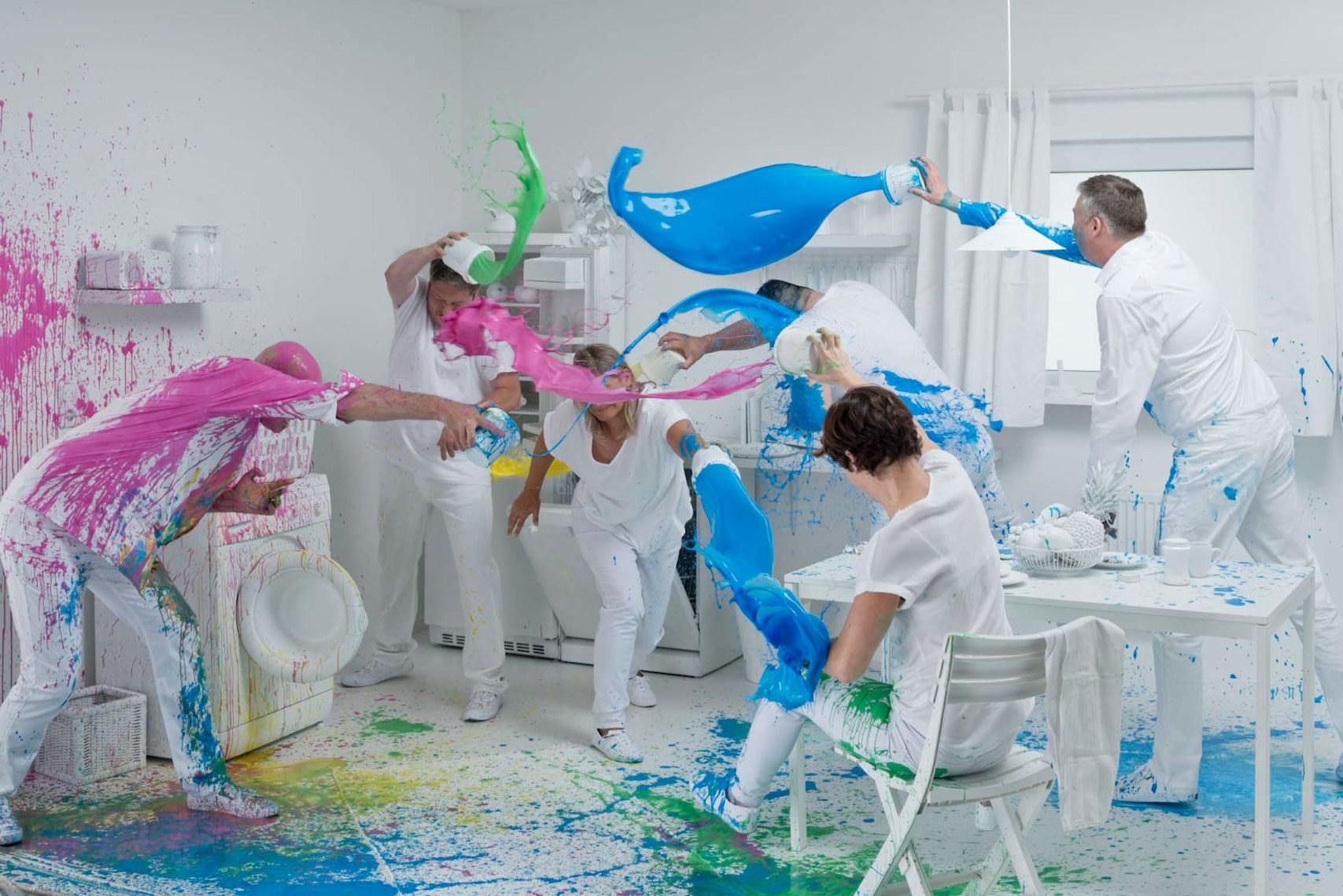Making of Farbenschlacht ©Rafael Krötz