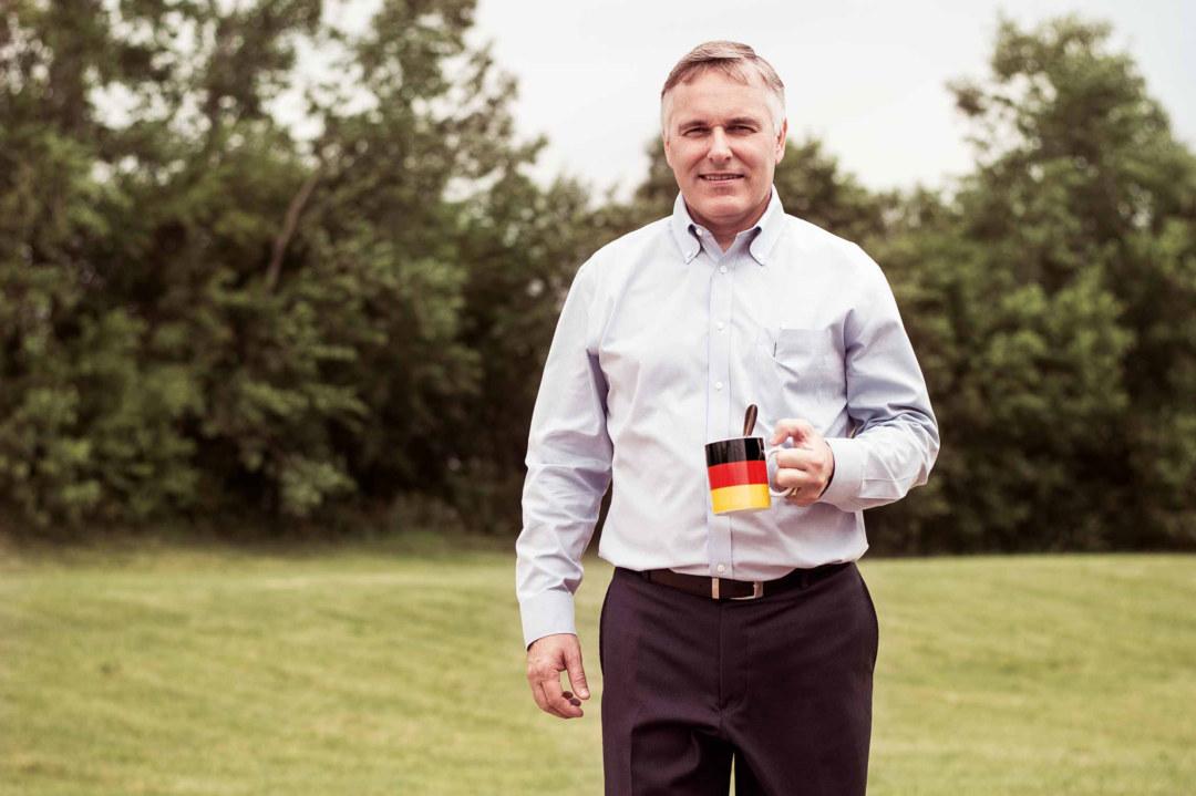 Mike Grandy ist seit Februar 2014 President bei Worwag Coatings LLC, einer Wörwag-Tochter in den USA. ©Laurent Burst